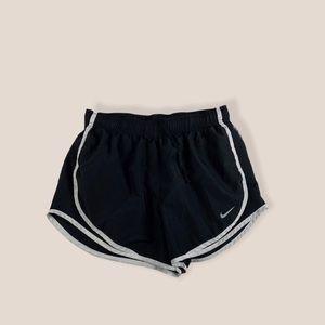 Nike Black Athletic Short Shorts Size Medium